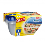 1.89L Deep Dish BPA-Free Containers (L) 3s
