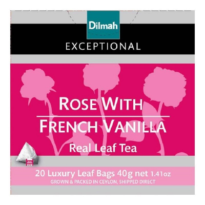 Tea Bags - Rose With French Vanilla 20sX2g