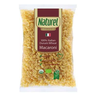 Organic Durum Wheat Macaroni 500g