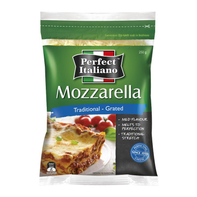 Mozzarella Traditional - Grated 250g