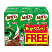 Milo Ready-to-Drink 6s X 200ml