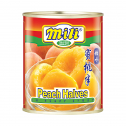 Peach Halves In Heavy Syrup 825g