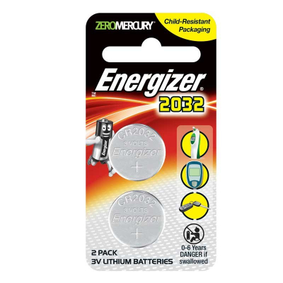 3V Lithium Batteries 2s CR2032