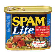 Spam Lite Luncheon Meat 340g  (#)