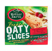 Oaty Slices Raspberry With Chocolate 6s