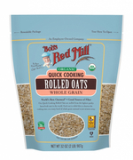 Organic Rolled Oats Whole Grain Quick Cooking