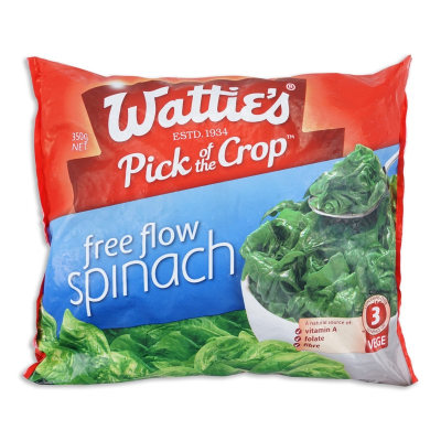 Spinach Free Flow 350g