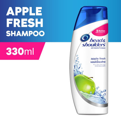 Apple Fresh Anti-Dandruff Shampoo 330ml