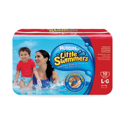 Little Swimmers Diapers Over 14kg 10s