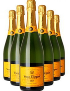 Champagne Yellow Label Brut Non-Vintage 6 Bottles