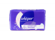 Pantyliner Cottony Soft Unscented 40s