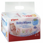 Baby Wipes - 99% Pure Water 6X82Sheets