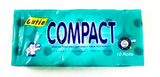 2 Ply Compact Toilet Rolls 10s