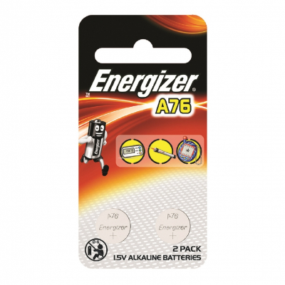 1.5V Alkaline Battery A76/LR44 2's