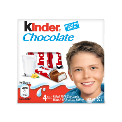 Chocolate Bars Rich In Milk T4 50g