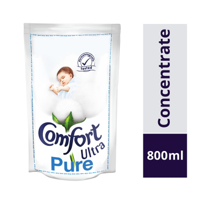 Concentrate Ultra Pure Fabric Softener Refill 800ml