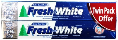 Toothpaste Extra Cool Mint 2X250g