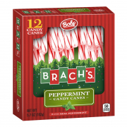 Peppermint Candy Canes (Red & White) 12s