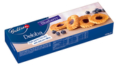 Deloba Puff Pastry Biscuits W/ Blueberry Filling 100g