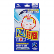 Cool Fever Gel Sheet 6s