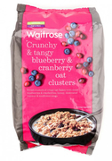 Blueberry And Cranberry Oat Crunchy