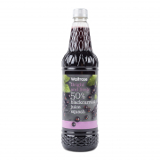Blackcurrant Juice Squash 50% 1L