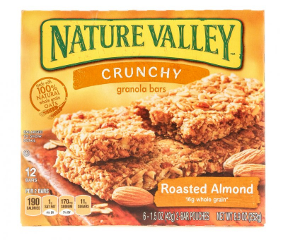 Granola Bars Roasted Almond 6s