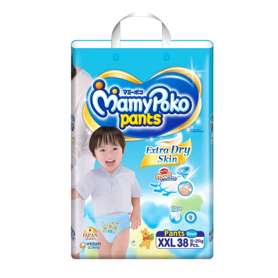 Extra Dry Pants Diapers For Boys 38s XXL 15-25kg (#)