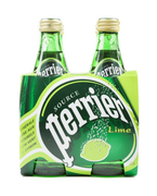 Sparkling Mineral Water Lime 4sX330ml (#)
