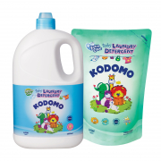 Baby Laundry Detergent 2L + Refill 1L