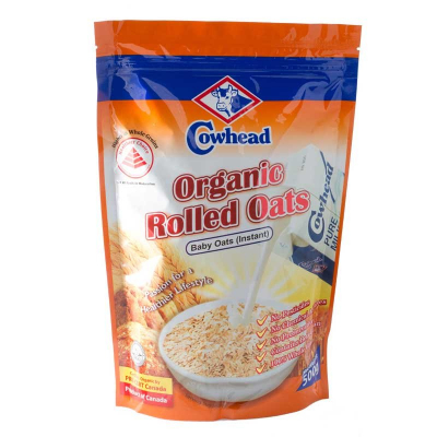 Organic Rolled Oats Baby 500g