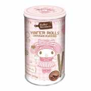 My Melody Chocolate Flavoured Wafer Rolls
