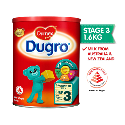 Dugro Stage 3 Growing Up Baby Milk Formula 1.6kg