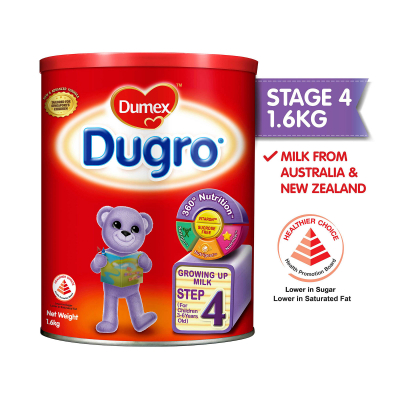 Dugro Stage 4 Growing Up Kid Milk Formula (1.6kg)