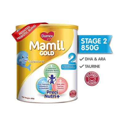 Mamil Gold Stage 2 Follow On Baby Milk Formula (850g)