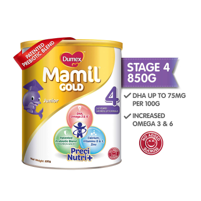Mamil Gold Stage 4 Growing Up Kid Milk Formula (850g)