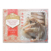 Frozen Sea Caught Pink Leg Prawn 800g