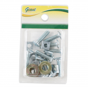 Bolt & Nut With Washer 5X6/20 6mm