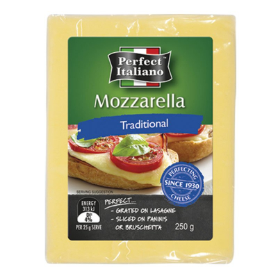 Mozzarella Block - Traditional 250g
