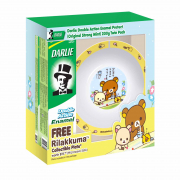 Enamel Protect Toothpaste Twin Pack + FREE Rilakkuma Plate