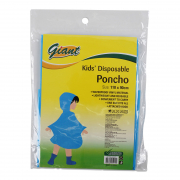 Poncho Disposable - Kids 110cmX90cm