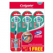 Toothbrush 360 Medium Buy 2 Get 1 Free (#)