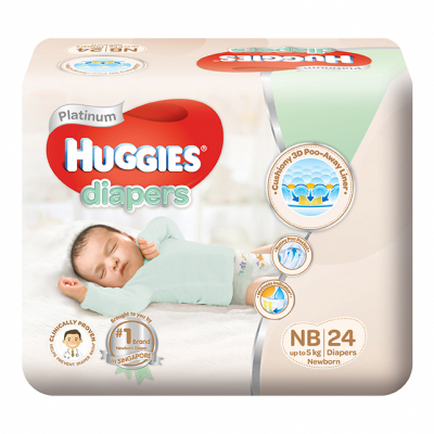 Platinum New Born Diapers 24s Up To 5kg