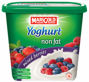 Non Fat Yoghurt Mixed Berries 1kg
