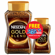 Gold Blend Instant Soluble Coffee 200g+50g