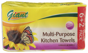 Kitchen Paper Towel 8X60Sheets