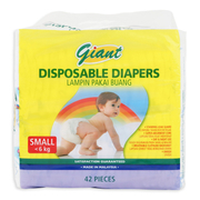 Diapers 42s S Up to 6kg