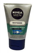 Men White Oil Control Cleanser&Scrub 100g
