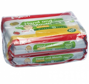 Baby Hand & Mouth Wipes Ð 2X60s
