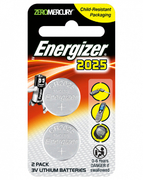 Lithium Coin Battery CR2025 2s